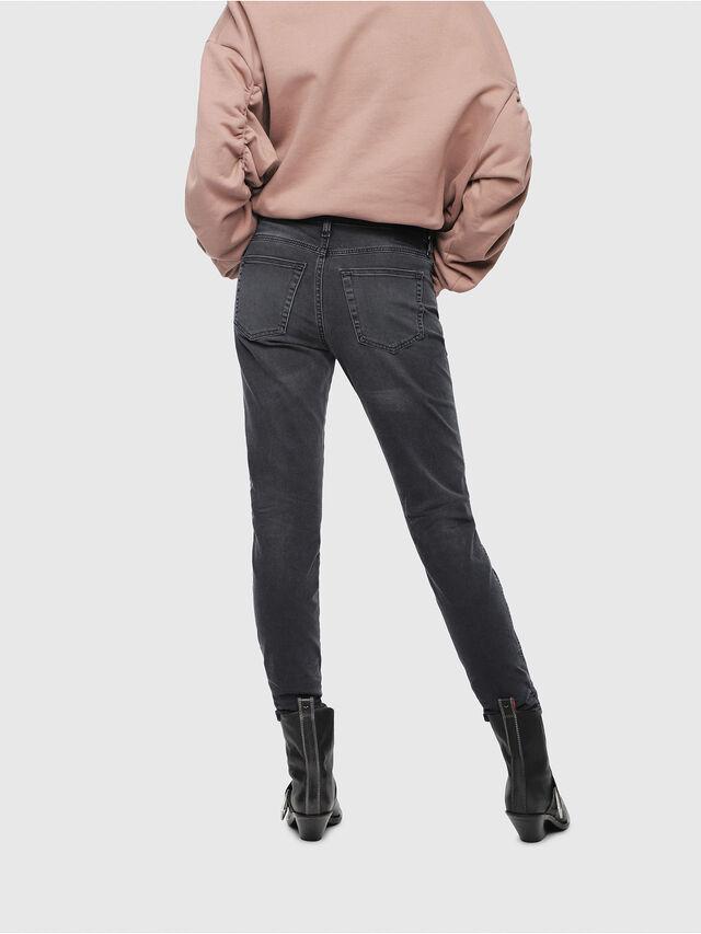 Diesel - Babhila 069EQ, Black/Dark Grey - Jeans - Image 2