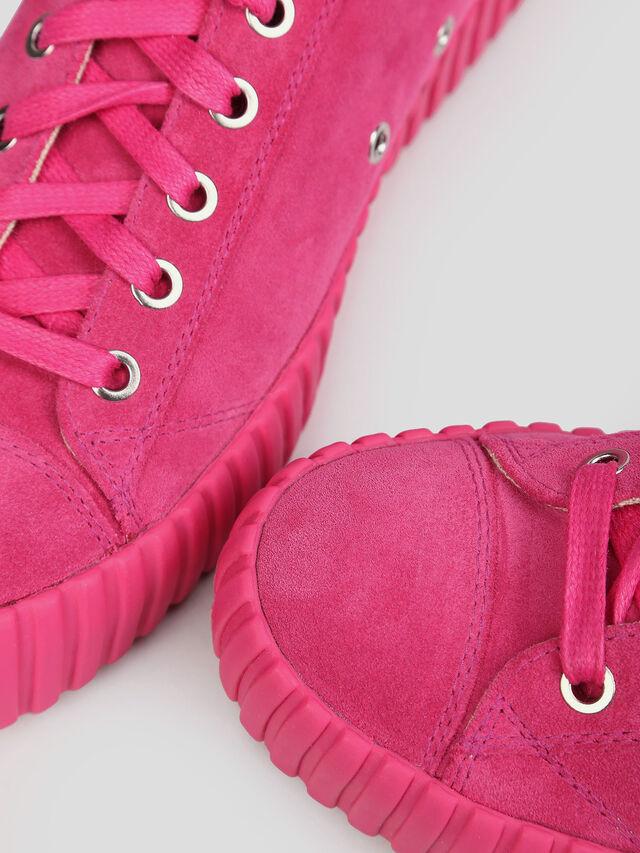 Diesel - S-EXPOSURE CLC W, Hot pink - Sneakers - Image 4