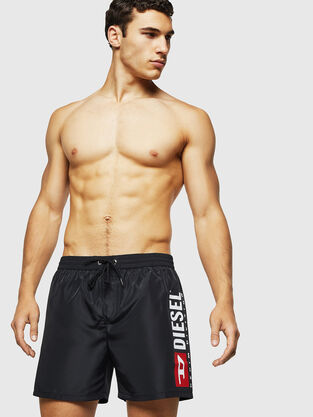 e09f43508c BMBX-WAVE 2.017, Black - Swim shorts