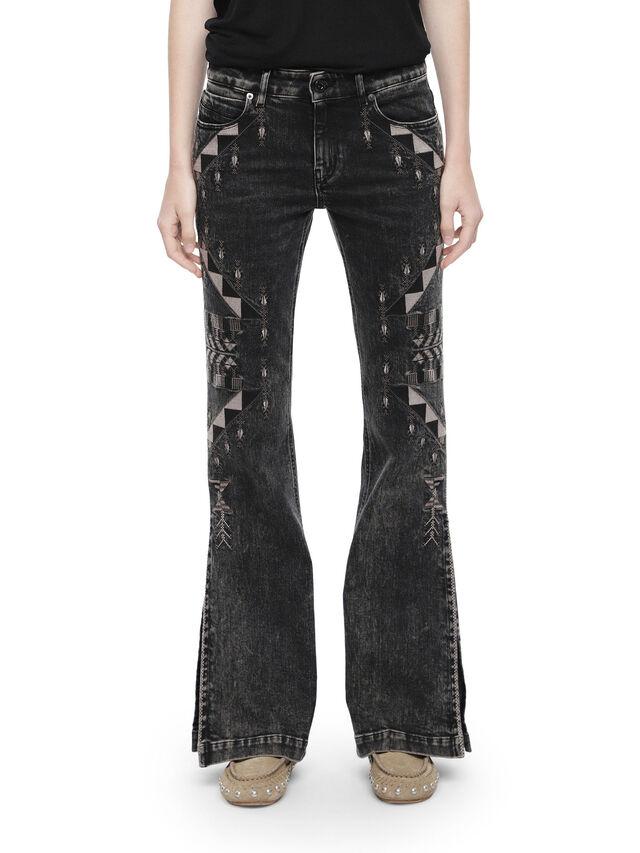 Diesel - TYPE-1829, Black Jeans - Jeans - Image 1