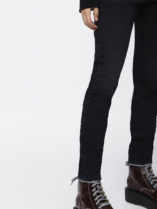 Diesel - Krailey JoggJeans 069CM, Black/Dark Grey - Jeans - Image 3