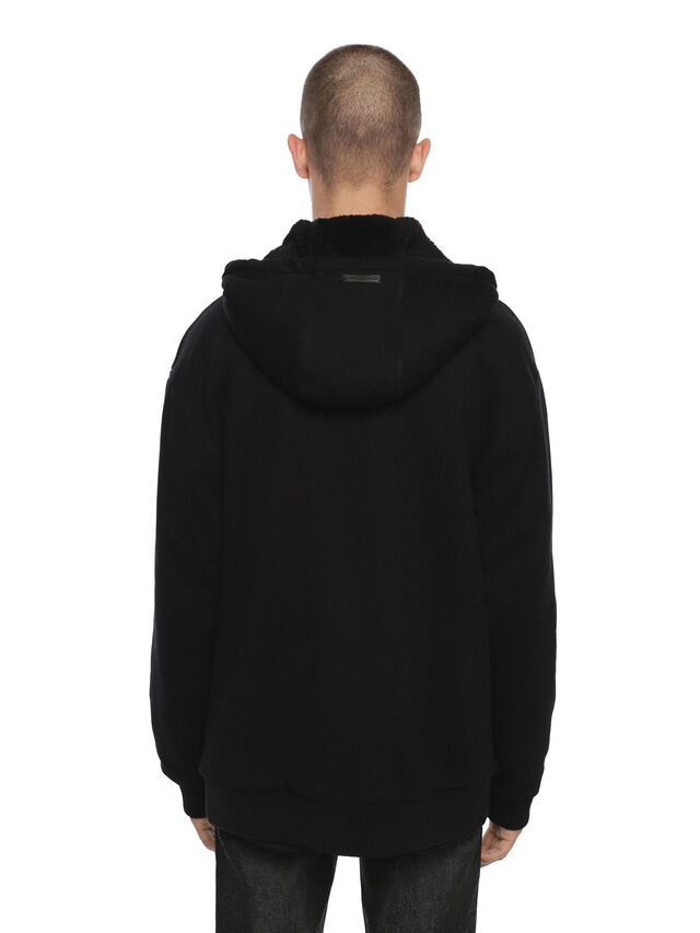 Diesel - FLAMO, Black - Sweatshirts - Image 2