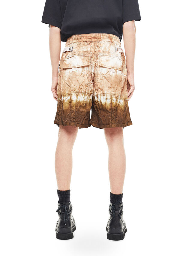 Diesel - PAIDAY, Brown/White - Shorts - Image 2