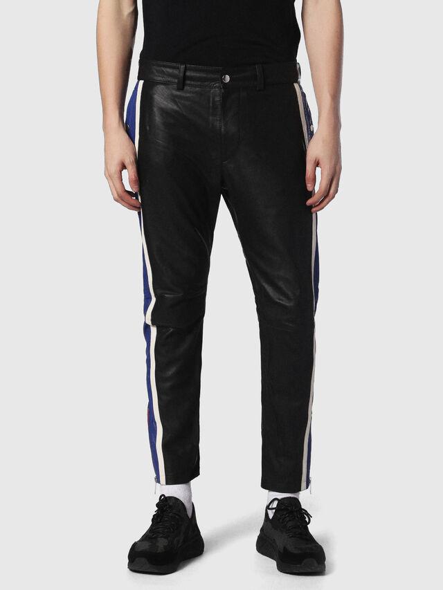 Diesel - P-MONTE-L, Black/Blue - Pants - Image 2