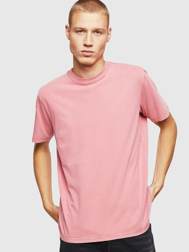 Diesel - T-THURE, Pink - T-Shirts - Image 1