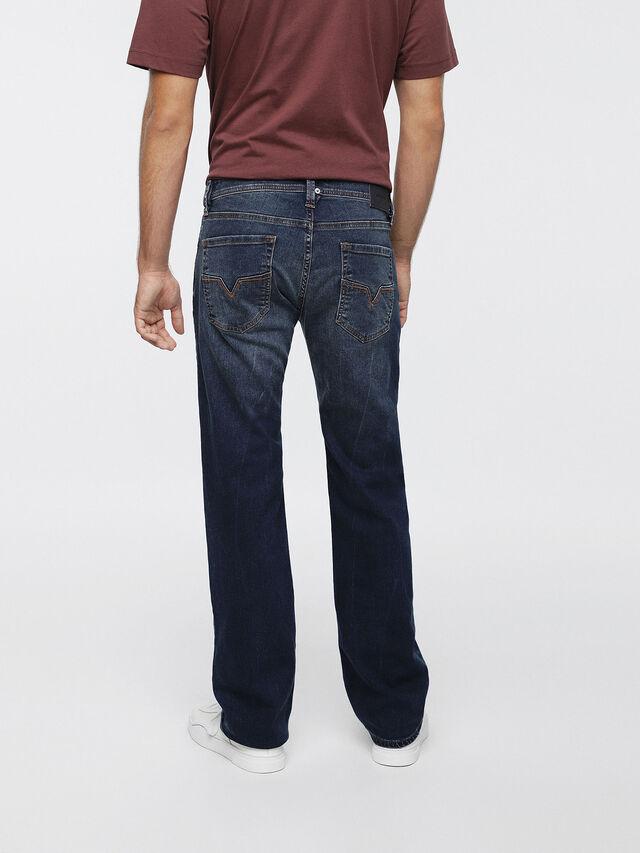 Diesel - Larkee C84XV, Dark Blue - Jeans - Image 2