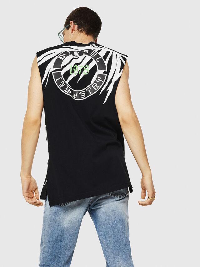 Diesel - T-YOSHIMI-SL, Black/White - T-Shirts - Image 2