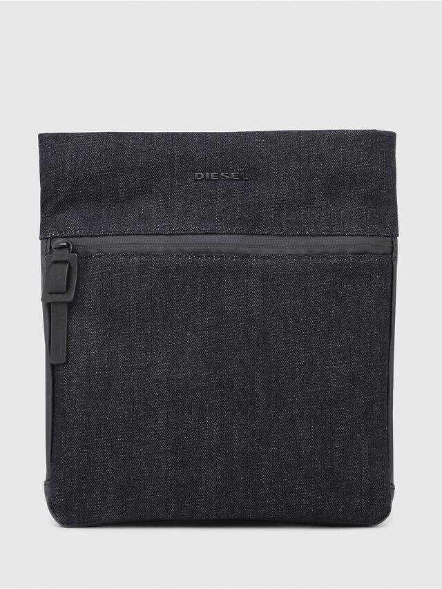 Diesel - D-SUBTORYAL CROSS, Blue Jeans - Crossbody Bags - Image 2