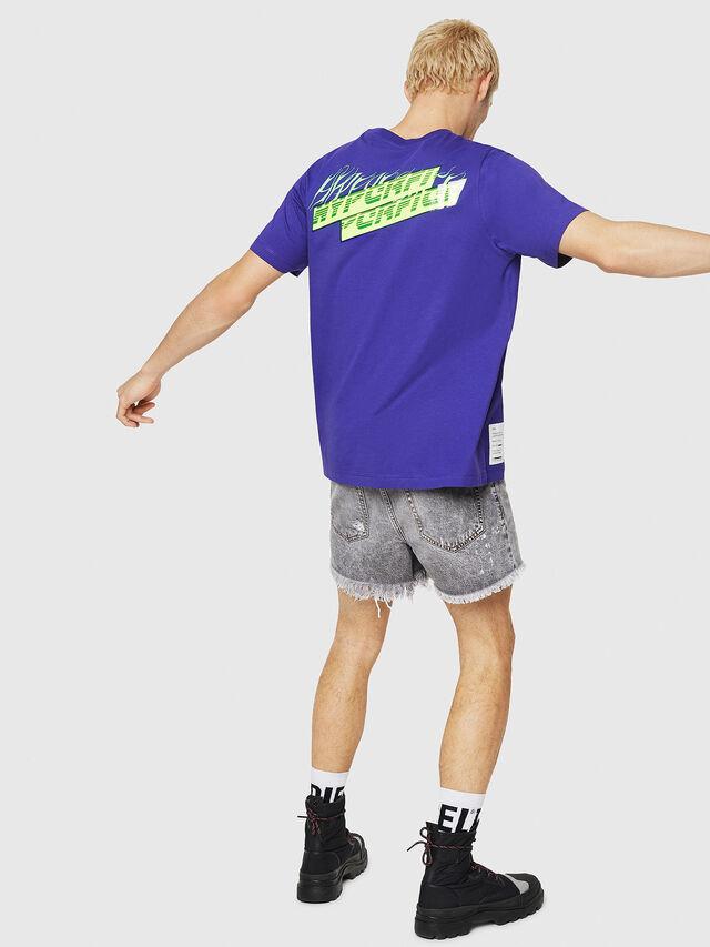 Diesel - T-JUST-Y10, Violet - T-Shirts - Image 4