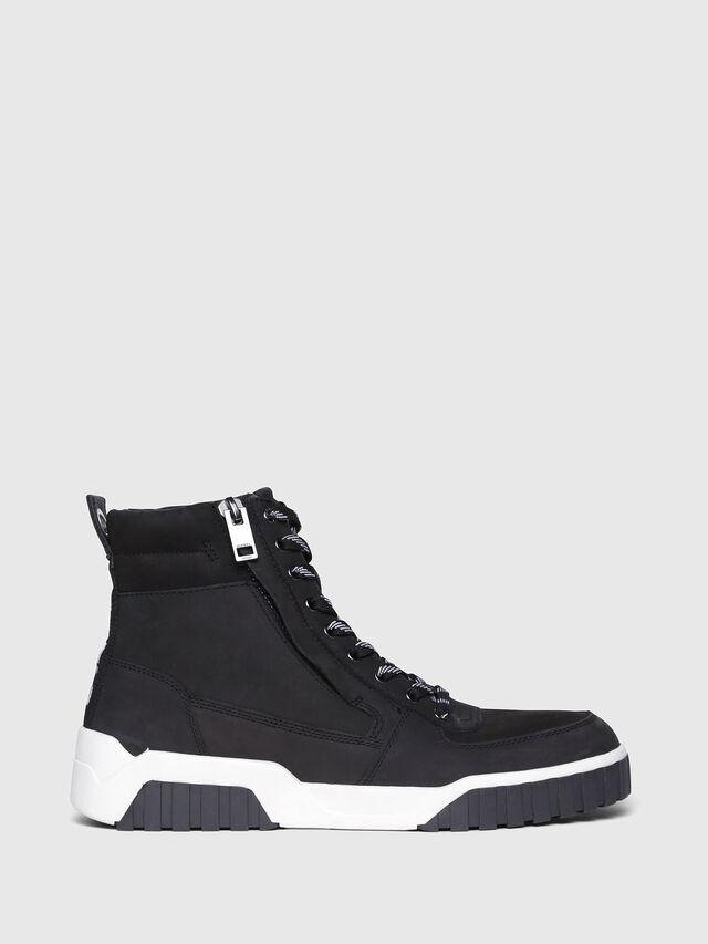 Diesel - S-RUA MC, Black - Sneakers - Image 1