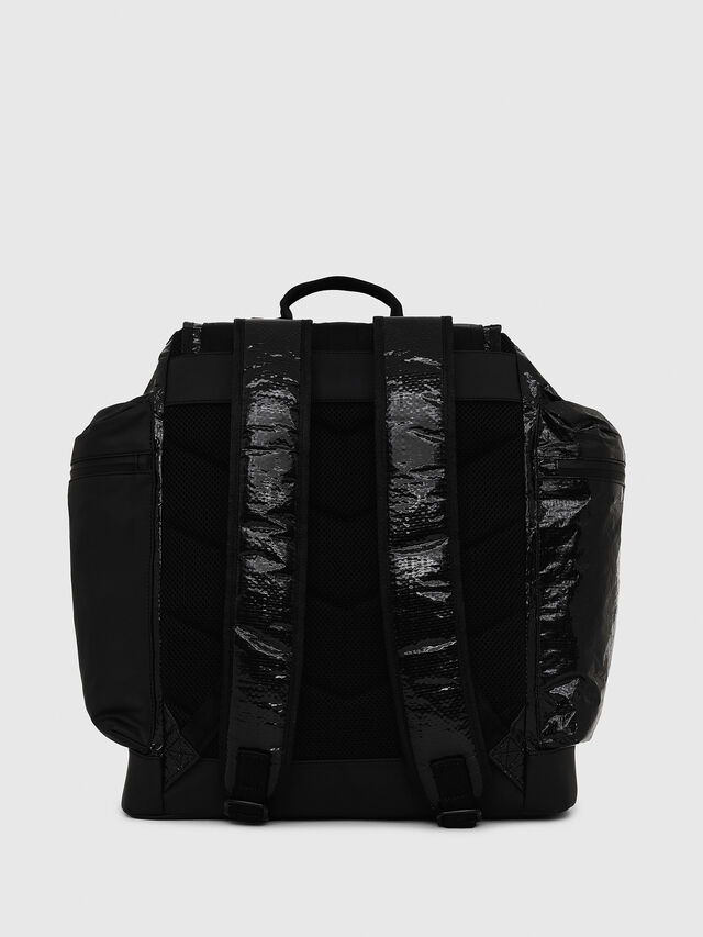 Diesel - M-CAGE BACK, Black - Backpacks - Image 2