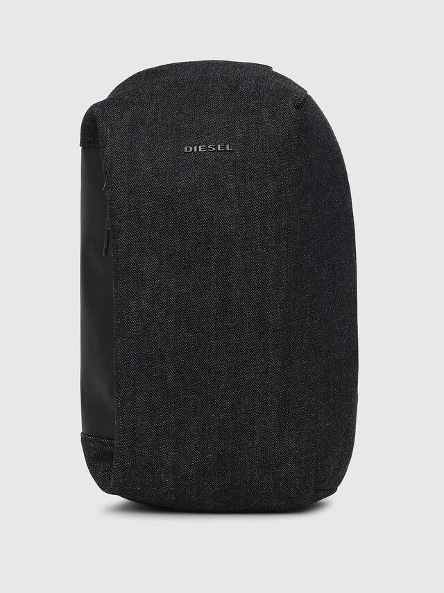 Diesel - D-SUBTORYAL MONO, Blue Jeans - Backpacks - Image 1