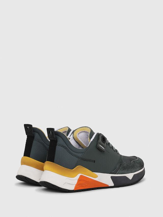 Diesel - S-BRENTHA LC, Green - Sneakers - Image 3