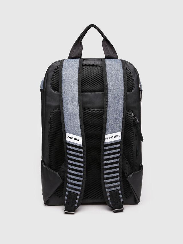 Diesel - D-SUBTORYAL BACK, Blue Jeans - Backpacks - Image 2