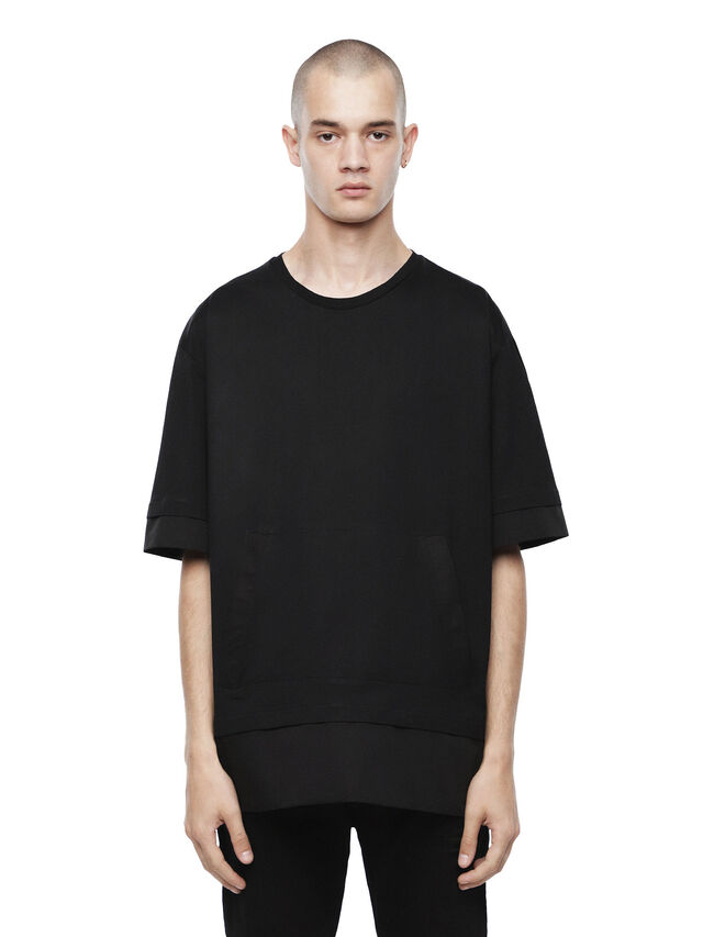 Diesel - TAGEO, Opaque Black - T-Shirts - Image 1