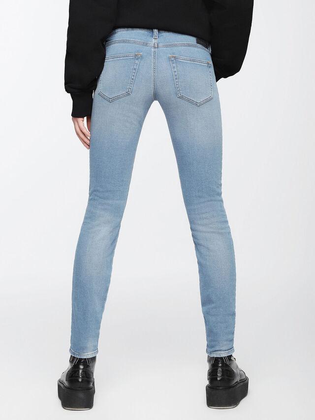 Diesel - Gracey JoggJeans 084UA, Light Blue - Jeans - Image 2