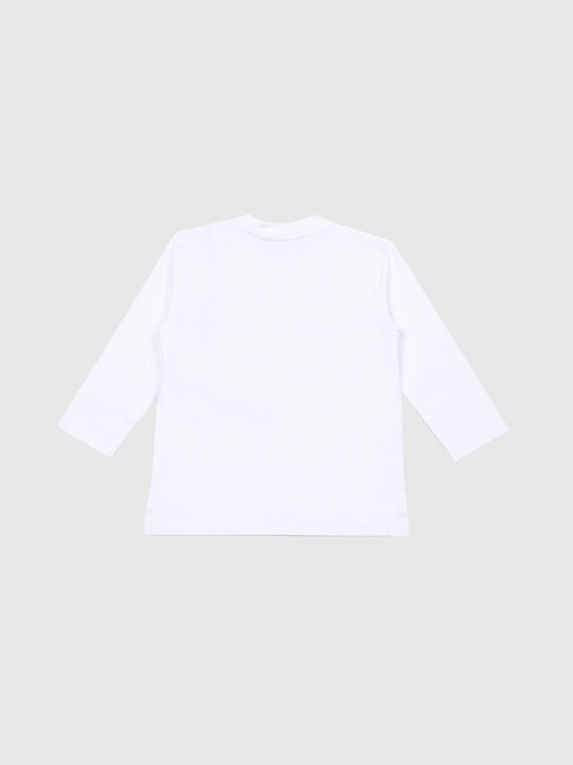 Diesel - TRIVVIB, White - T-shirts and Tops - Image 2