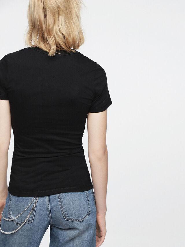 Diesel - T-SALI-B, Black - T-Shirts - Image 2