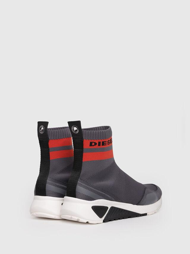 Diesel - S-KB SOCK, Grey/Red - Sneakers - Image 2