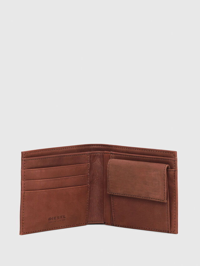 Diesel - HIRESH S, Light Brown - Small Wallets - Image 3