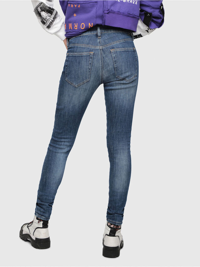 Diesel - Slandy 088AV, Medium Blue - Jeans - Image 2