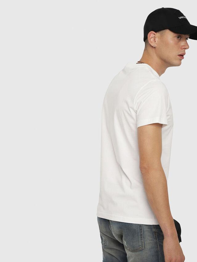 Diesel - T-DIEGO-YA, White - T-Shirts - Image 2