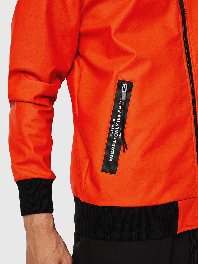 Diesel - S-FILM, Orange - Sweatshirts - Image 3