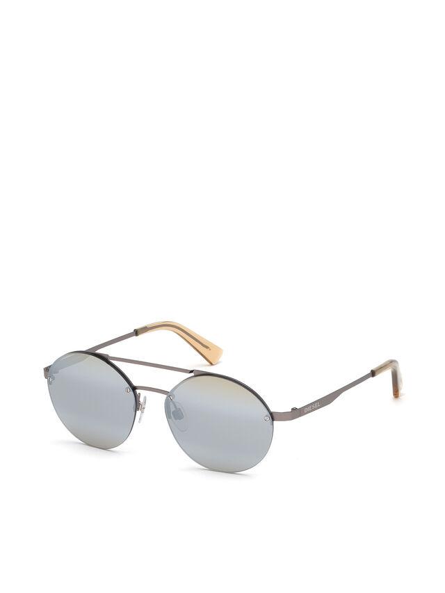 Diesel - DL0275, Silver - Eyewear - Image 2