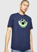 T-JUST-B1, Blue - T-Shirts