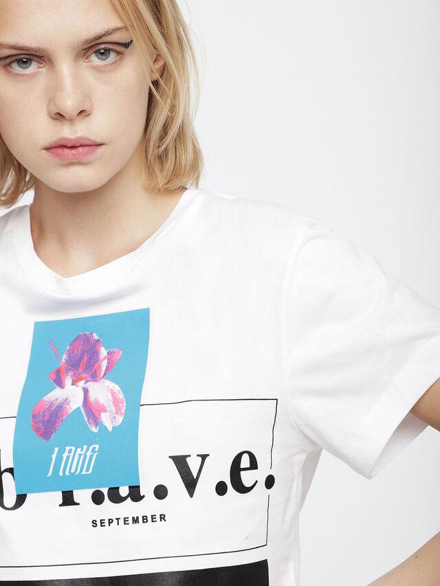 Diesel - T-GODIE, White - T-Shirts - Image 3