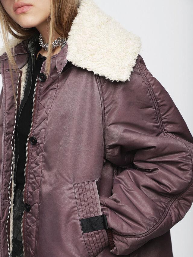 Diesel - W-GIADA, Violet - Winter Jackets - Image 3