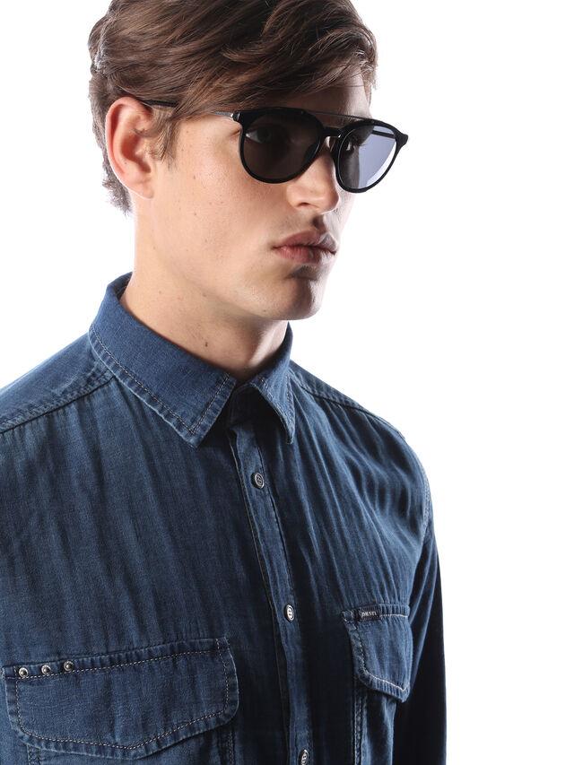 Diesel - DM0188, Black - Sunglasses - Image 5