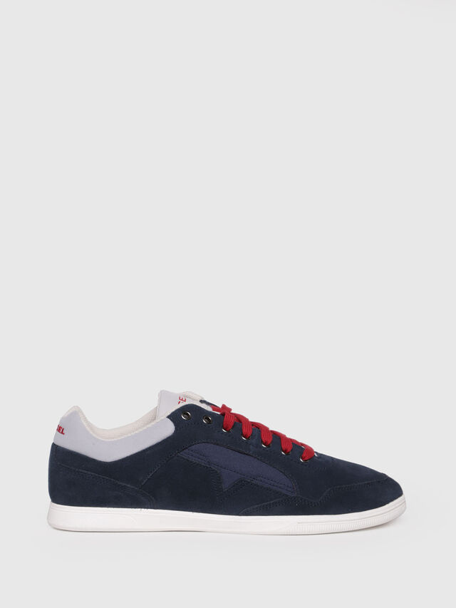 Diesel - S-HAPPY LOW, Dark Blue - Sneakers - Image 1