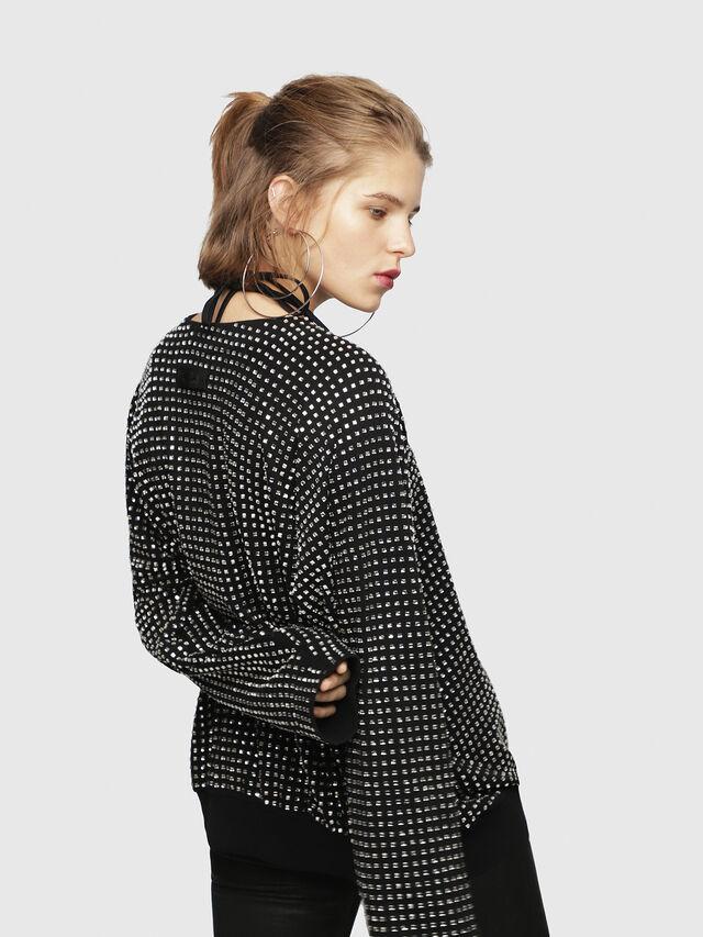 Diesel - F-NEW, Black - Sweatshirts - Image 2