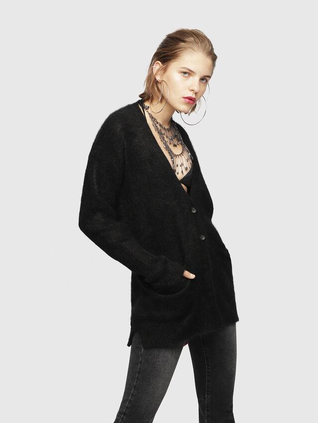 Diesel - M-DEN, Black - Sweaters - Image 1