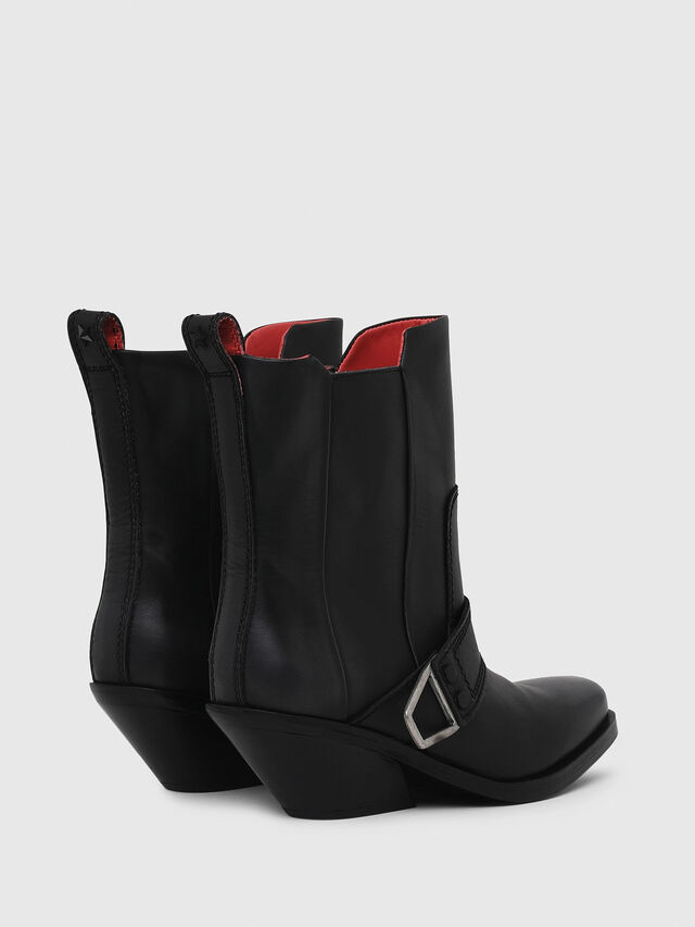 Diesel - D-GIUDECCA MA, Black - Ankle Boots - Image 3