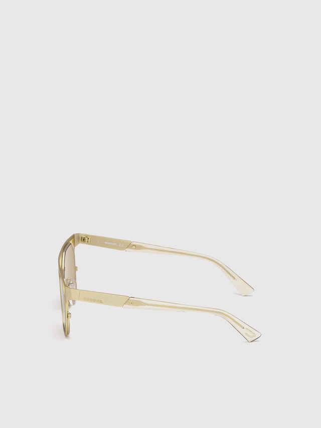 Diesel - DL0249, Gold - Sunglasses - Image 3