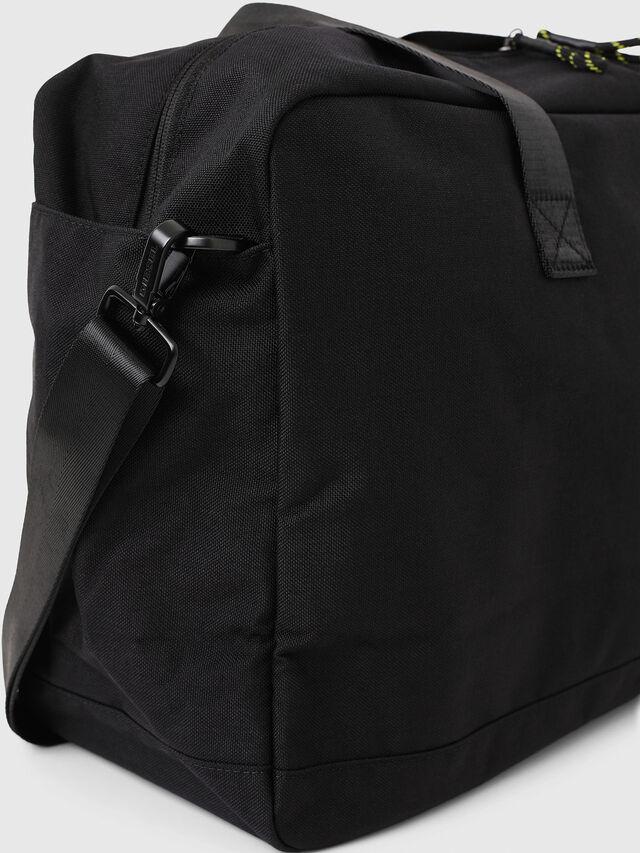 Diesel - SOLIGO, Black/Yellow - Travel Bags - Image 4
