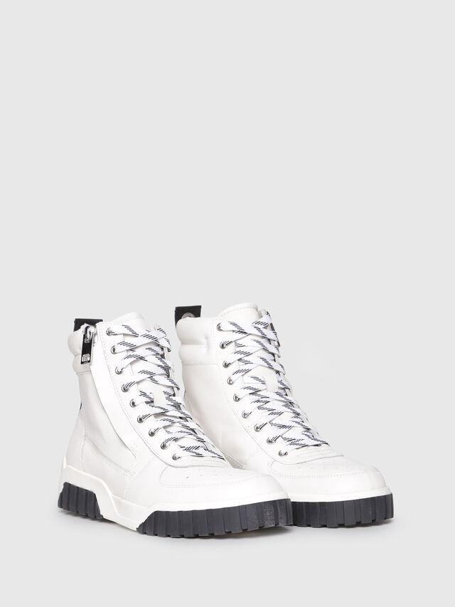 Diesel - S-RUA MC, White - Sneakers - Image 2