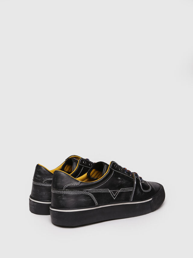 Diesel - S-FLIP LOW, Black - Sneakers - Image 2