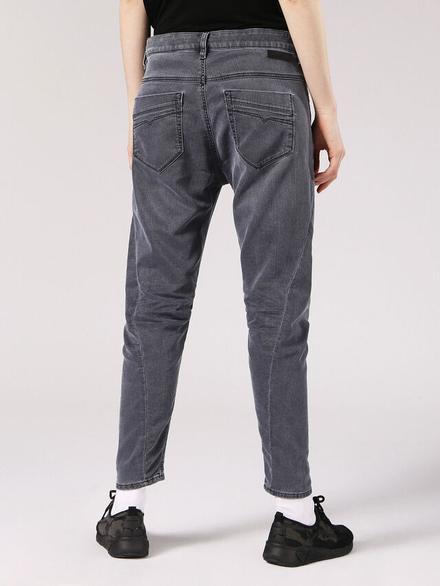 Diesel - Fayza JoggJeans 0689V, Black/Dark Grey - Jeans - Image 3
