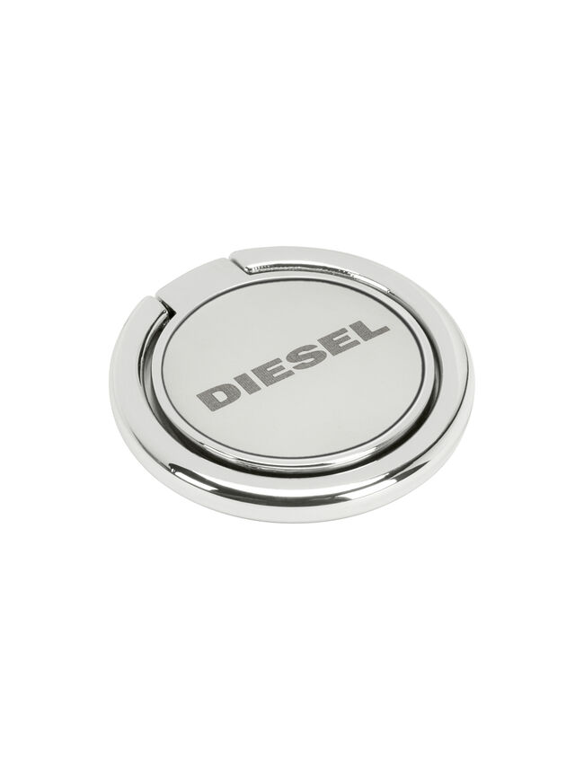 Diesel - DIESEL UNIVERSAL RING STAND, Silver - Ring stands - Image 1