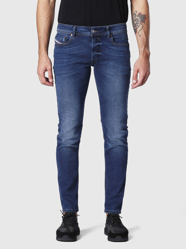 Diesel - Sleenker 084NW, Light Blue - Jeans - Image 1