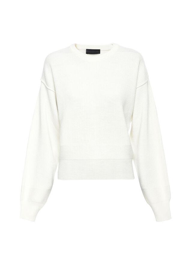 Diesel - MIRIKO, White - Sweaters - Image 5