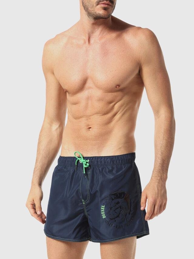 Diesel - BMBX-SANDY-REV 2.017, Blue Marine - Swim shorts - Image 1