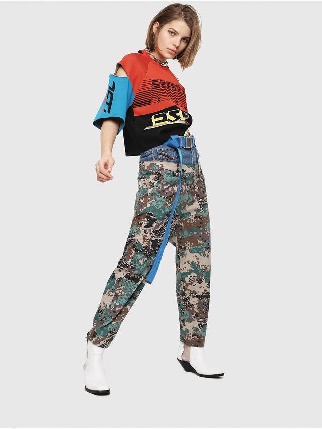 Diesel - M-DOIT, Multicolor - Sweaters - Image 5