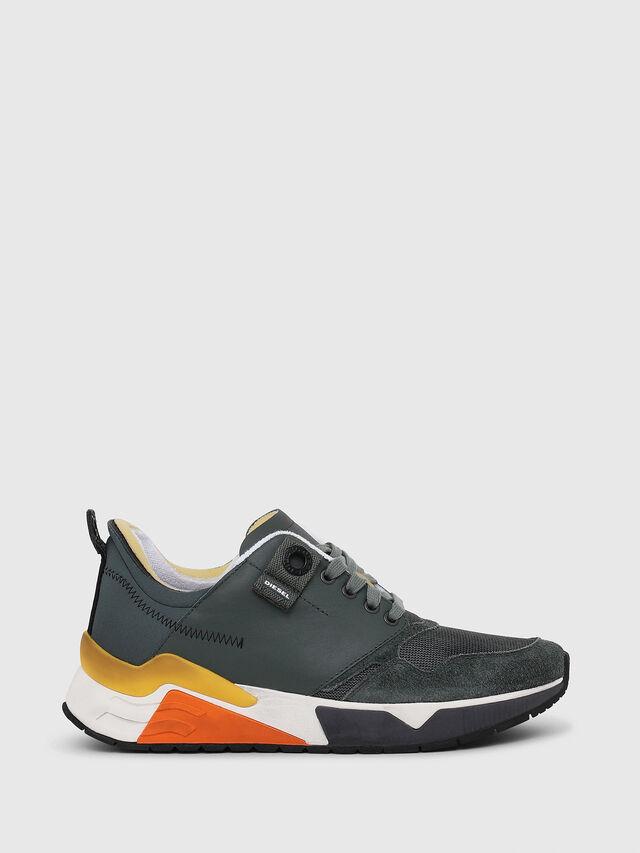 Diesel - S-BRENTHA LC, Green - Sneakers - Image 1