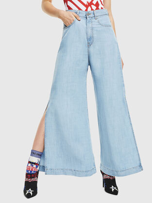 63ee0038 Womens Trousers and Shorts | Diesel Online Store