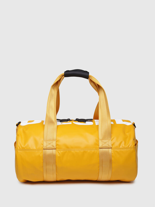 Diesel - F-BOLD DUFFLE, Yellow Ocher - Travel Bags - Image 1