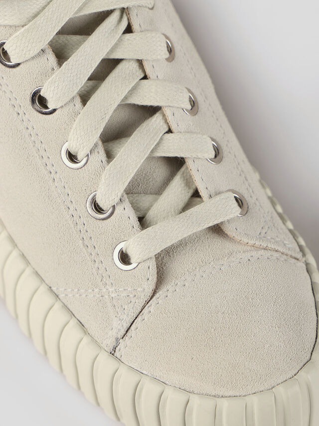 Diesel - S-EXPOSURE CLC W, Dirty White - Sneakers - Image 4